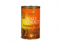 Muntons Hopped Light Canned Malt Extract 1.5 Kg